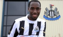 Vurnon Anita after signing for Newcastle United