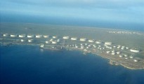 Bullenbaai where oil spill started