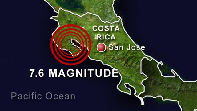 Costa Rica Earthquake deaths - Curaçao Chronicle