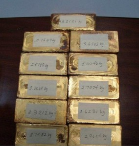 Goldbars found in Puerto Rico