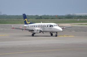 Insel Air - Embraer EMB-110P1 Bandeirante - PJ-VIA (c/n 110387)