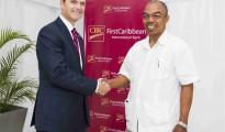 Pic CIBC FirstCaribbean support CARIFTA