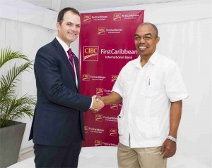 Pic CIBC FirstCaribbean support CARIFTA