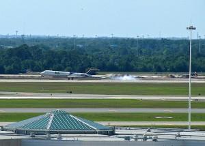 DAE landing in Orlando