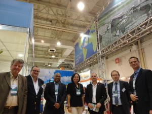 Part of Delegation_ Curacao Participates at Intermodal 20134