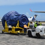 Pic Transport of new Engine to TAM