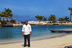 Adriyel Lourens- Chef Baoase Culinary Beach Restaurant