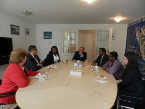 MinPLEN of SXM and Curacao Meet to Discuss Cooperation