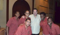 SBR Tito Nieves with SBR employees June 2013