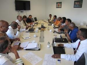 MinTEATT Meeting between reps of St Maarten and Anguilla