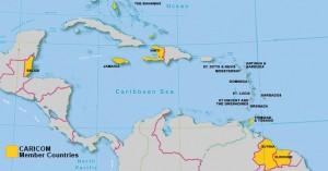 map-of-CARICOM-member-states