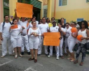 Cubans protest