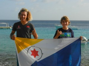 Bonaire Team Flag