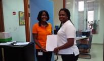 SxmDCOMM Curacao Civil Registry rep with Sxm Rep