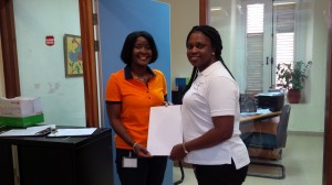 SxmDCOMM Curacao Civil Registry rep with Sxm Rep