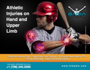 Baseball- Athletic Injuries on Hand and Upper limb