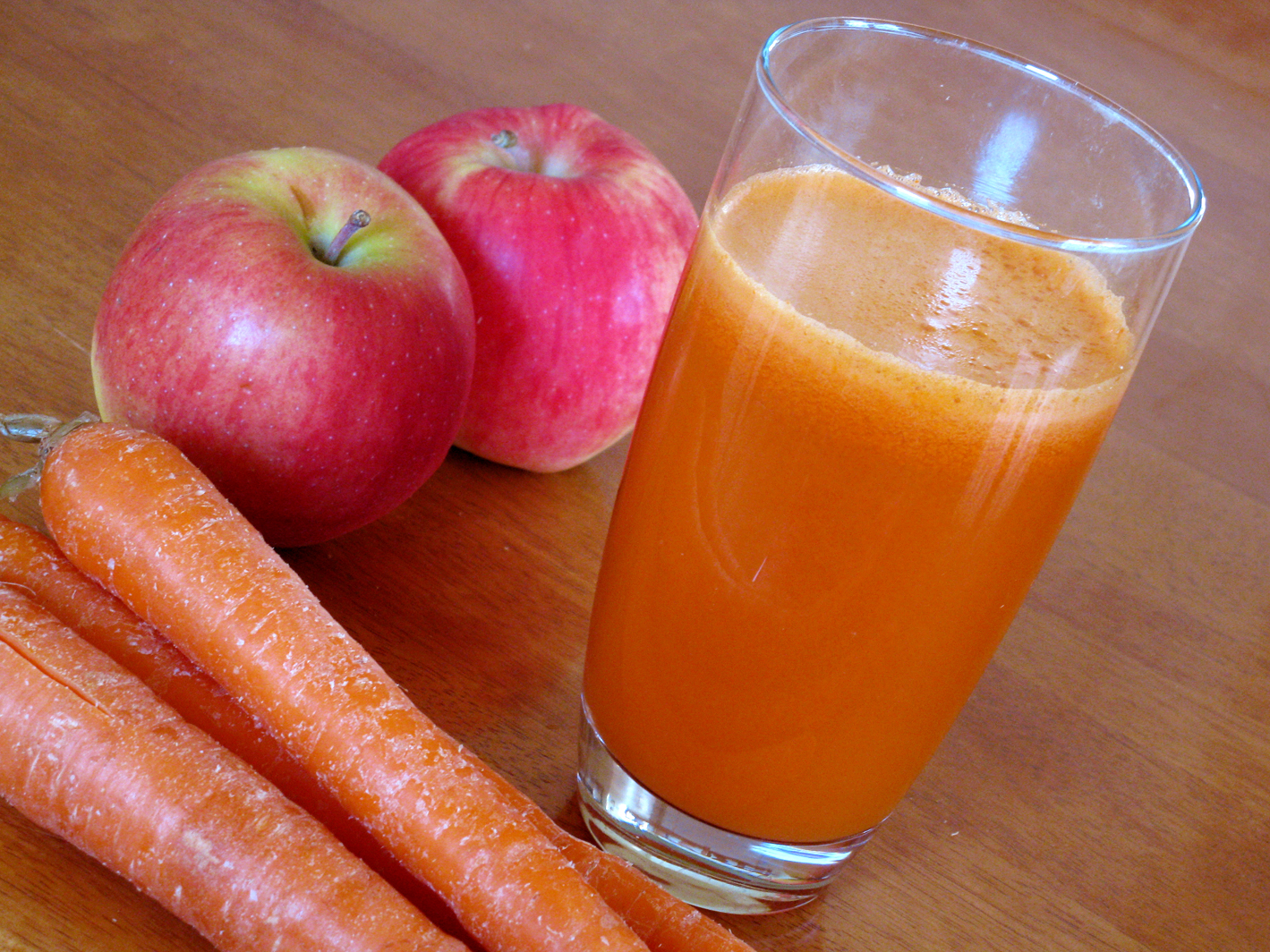 This Is What Drinking 4 Ounces Of Carrot Juice Everyday