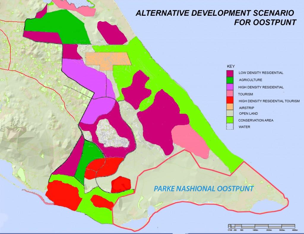 Oostpunt alternative development scenario