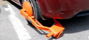 wheel-clamp