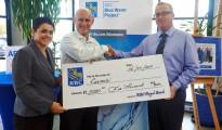 RBC presents cheque to Carmabi