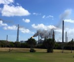 oil refinery flaring