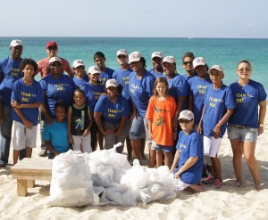 RBC Blue Water Day Beach Clean Up