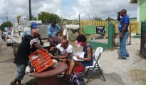Ayana interviewing fishers in Curaçao - courtesy Ayana E. Johnson