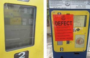 parkeer-meter-defect