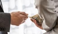 Corruption And Bribery Concept