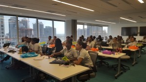 Curacao Students at Expedia-2 (L)