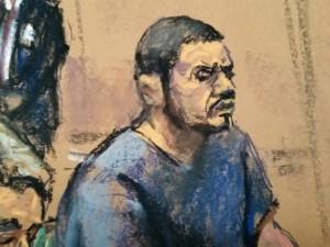Franqui Francisco Flores de Freitas sits in federal court in Manhattan, New York