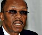 Former president of Haiti Jean-Bertrand