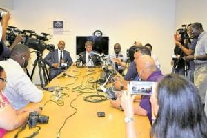 press conference OM Aruba