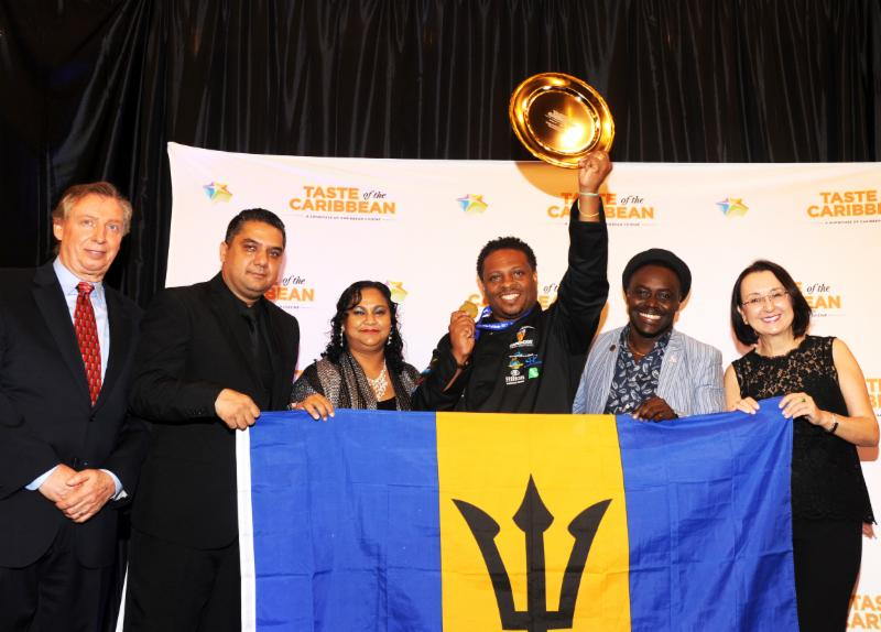 Caribbean Bartender of the Year, Ryan Adamson of Barbados