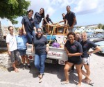 Rotaract Curaçao donates truck full of items