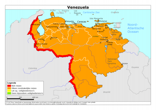 Venezuela_travel warning