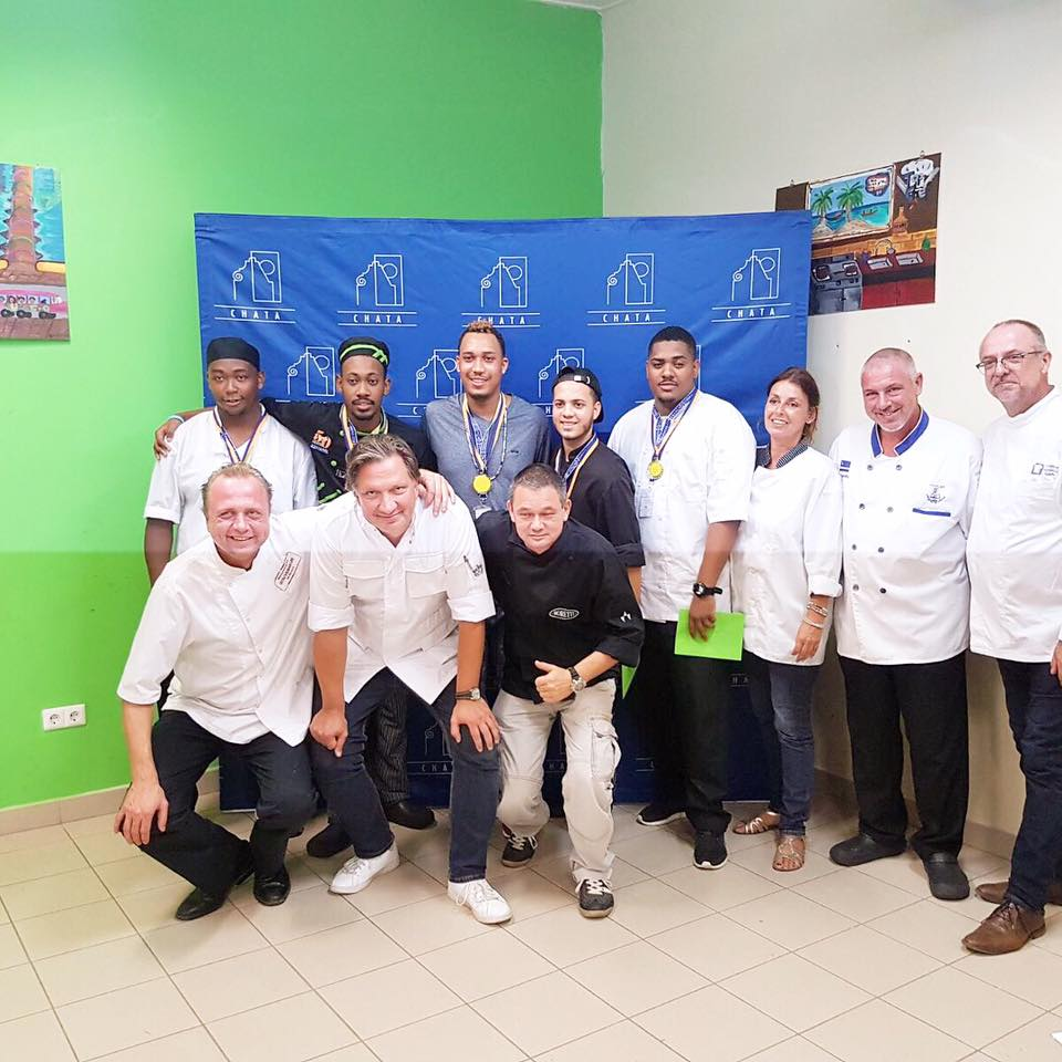 Chefs Culinary Team 2018 + Judges