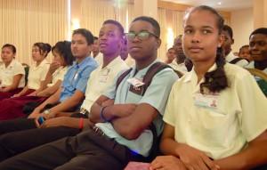 Internet Week Guyana students