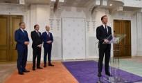 Toekomstig kabinet-Rutte III presenteert regeerakkoord