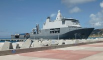 karel doorman at dock