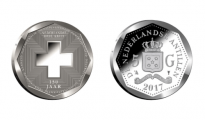 red cross coin
