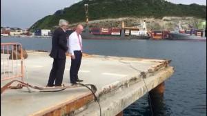 Dutch State Secretary Visit Knop to Port