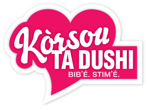 KÒRSOU TA DUSHI - logo with white outline