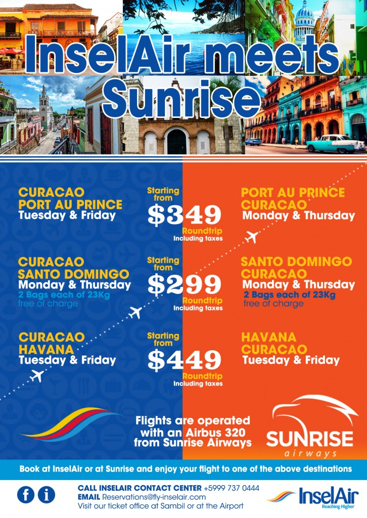 Prices Sunrise-InselAir