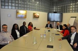 Saba delegation