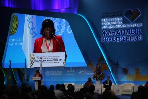 Dr Etienne, PAHO Director, Global Conference on Primary Health Care