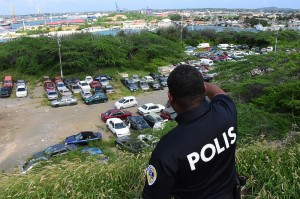 Police yard